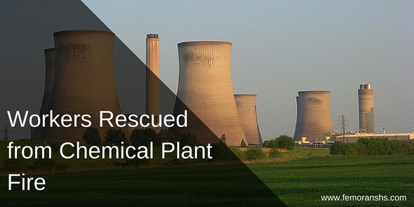 Workers Rescued from Chemical Plant Fire | F.E. Moran Special Hazard Systems