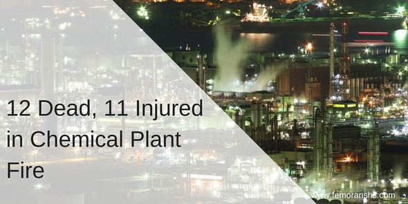12 Dead, 11 Injured in Chemical Plant Fire | F.E. Moran Special Hazard Systems