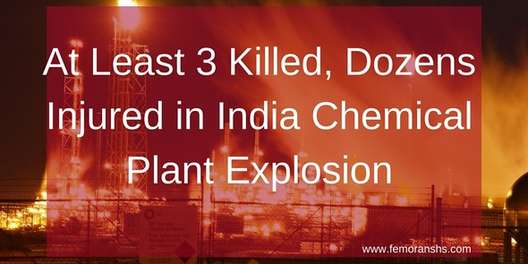 3 Killed, Dozens Injured in Chemical Plant Explosion
