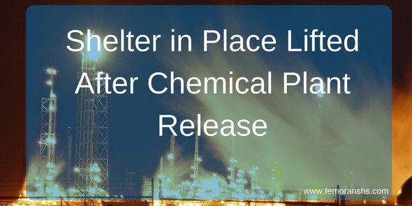 chemical plant release