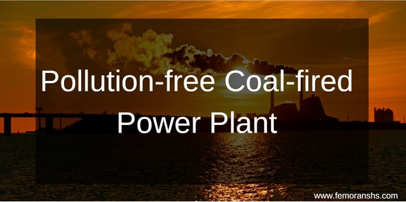 pollution free coal energy