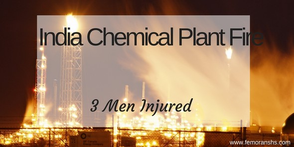 India Chemical Plant Fire