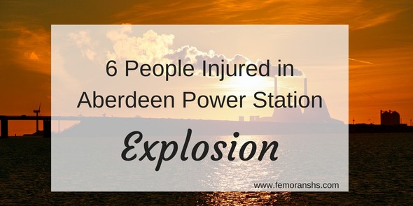 6 people injured in power station explosion
