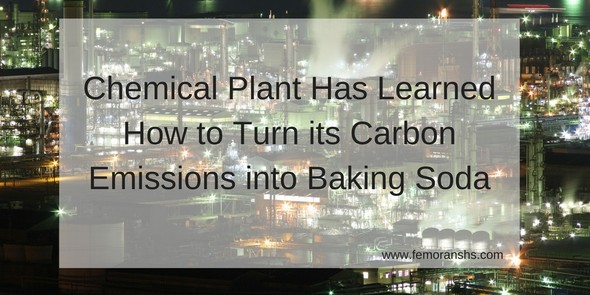 Chemical Plant has learned how to turn its CO2 into baking soda