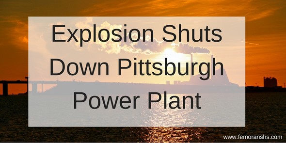 power plant explosion