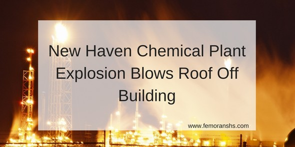 New Haven chemical plant explosion