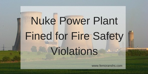 Nuke Power Plant Fire