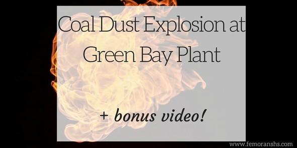 Coal Dust Explosion