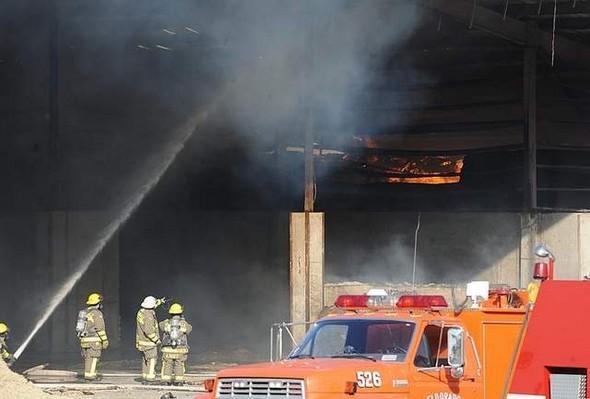 Wisconsin farm fire
