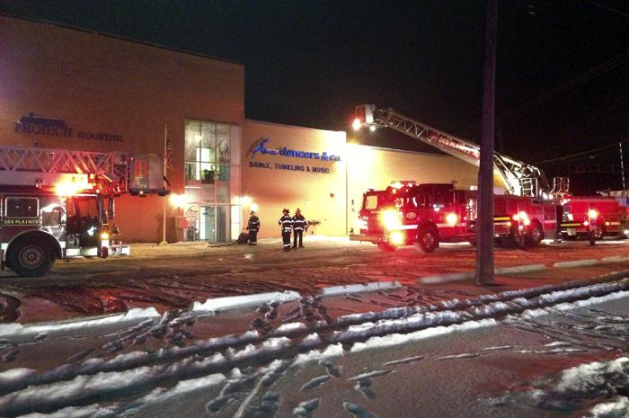 warehouse fire sprinklers
