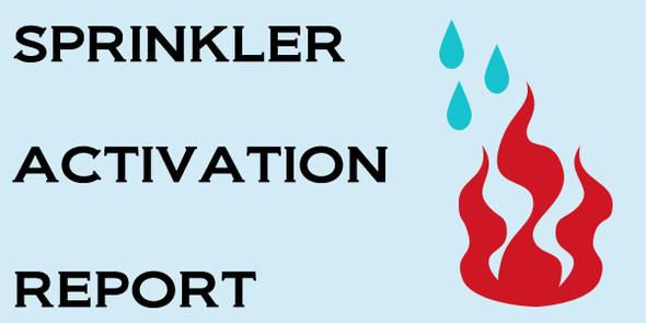 fire sprinkler activation Chicago