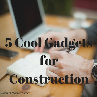 5 Cool Gadgets for Construction