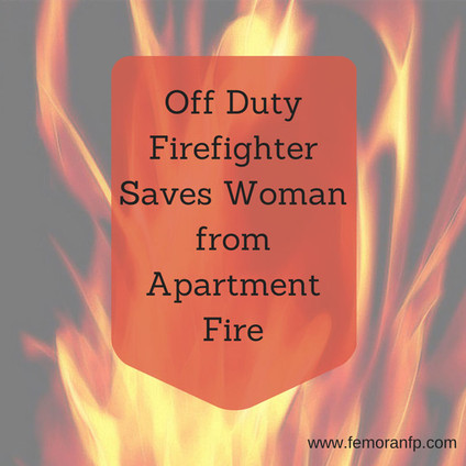 Off Duty Firefighter Saves Woman | F.E. Moran Fire Protection