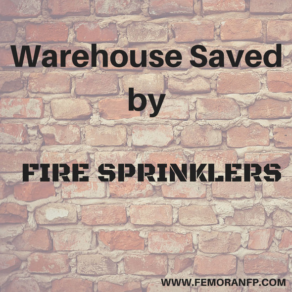 Warehouse Fire Sprinklers | F.E. Moran Fire Protection