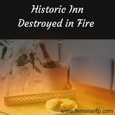 Historic Inn Destroyed in Fire
