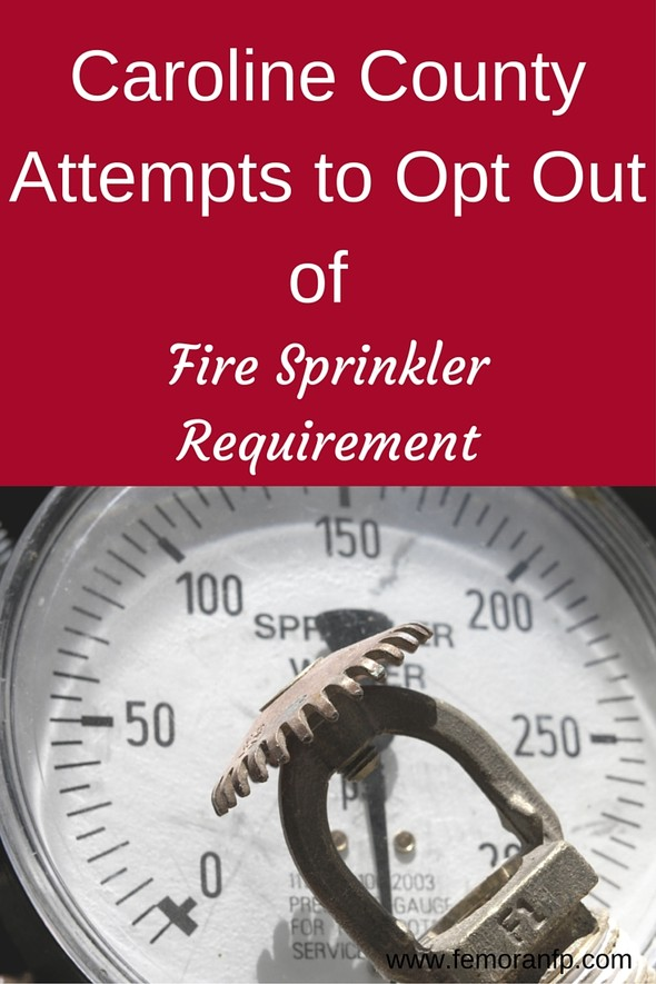 Fire Sprinkler Requirement for Residential | F.E. Moran Fire Protection (source:  www.femoranfp.com)