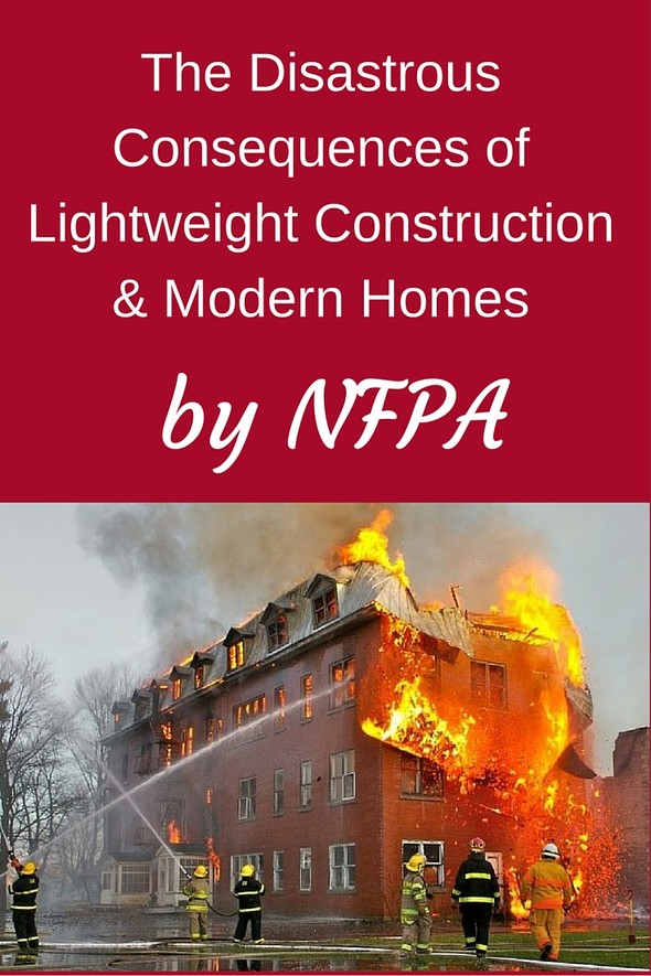 The Disastrous Consequences of Lightweight Construction & Modern Homes | F.E. Moran Fire Protection | NFPA