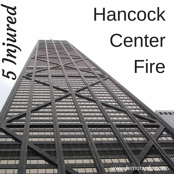 5 Injured in Hancock Center Fire | F.E. Moran Fire Protection