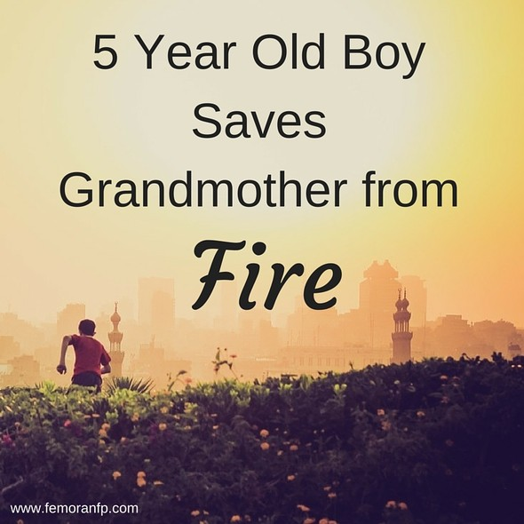 5 Year Old Boy Saves Grandmother from Fire | F.E. Moran Fire Protection