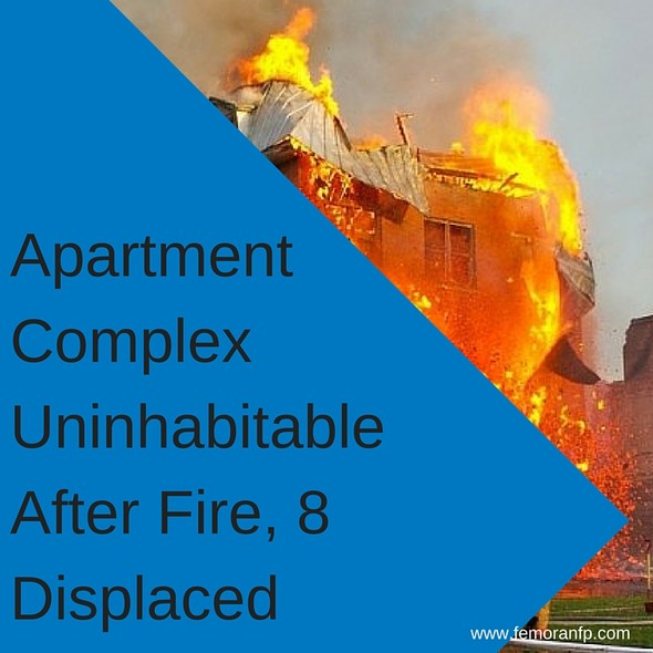 Apartment Complex Uninhabitable Following Fire | F.E. Moran Fire Protection