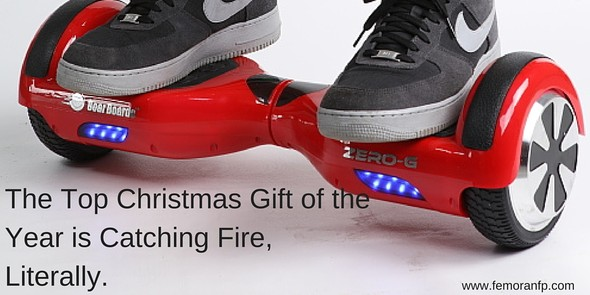 Top Christmas Gift of the Year is Catching Fire | F.E. Moran Fire Protection