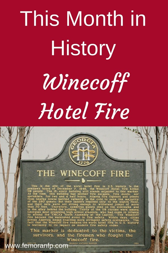 Winecoff Hotel Fire | F.E. Moran Fire Protection