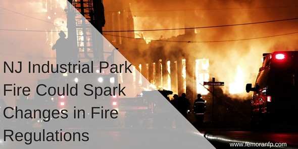 NJ Industrial Park Fire Could Spark Changes in Fire Regulations