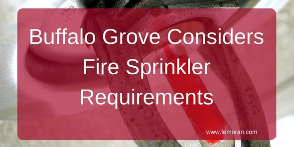 Buffalo Grove single family fire sprinklers