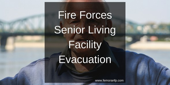 Fire Forces Senior Living Facility Evacuation
