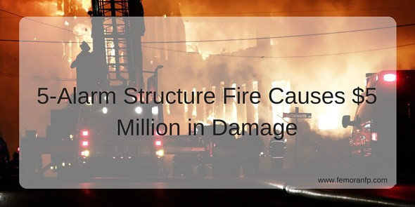 5-Alarm Structure Fire