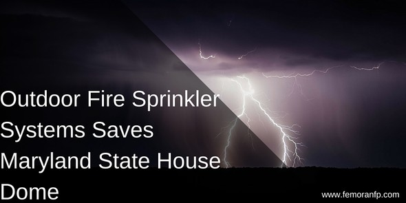 Outdoor Fire Sprinkler System