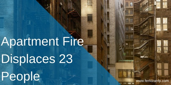 Apartment Fire Displaces 23