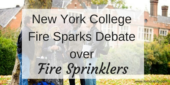 fire sprinklers for dorms