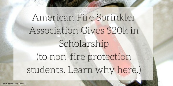 American Fire Sprinkler Association Scholarship
