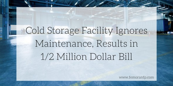 cold storage facility fire protection maintenance