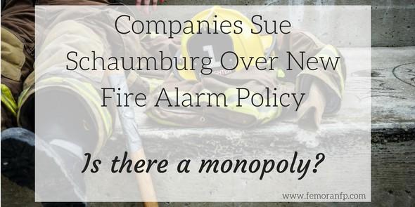 companies sue over Schaumburg fire department