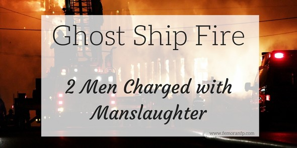 Ghost Ship Fire