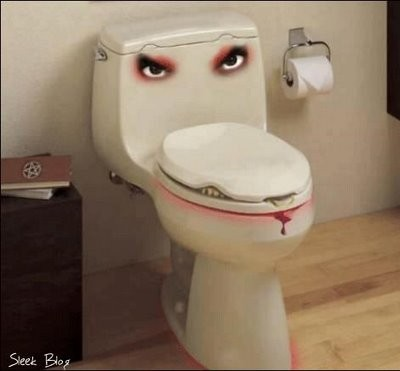 face toilet