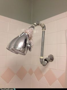 Plumbing fails pt 4 fe moran diy rain showerhead solutioingenieria Choice Image