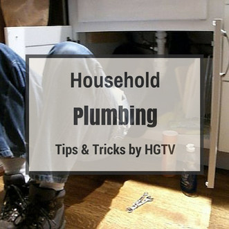 household plumbing tips