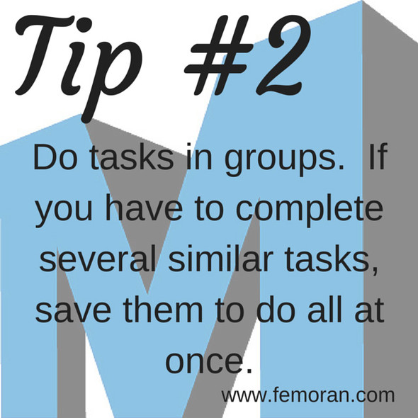 Do Similar Tasks in Groups | F.E. Moran