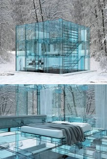 Winter Wonderland Glass House | The Moran Group