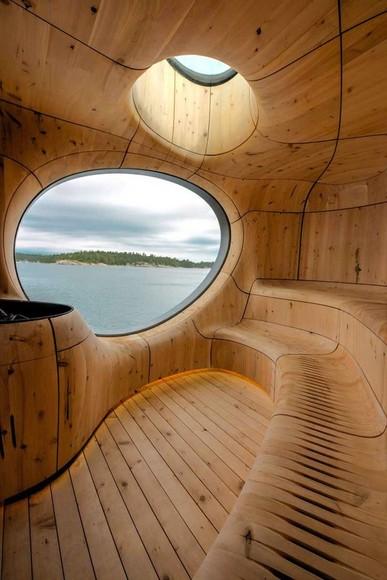 Sauna Architecture | The Moran Group