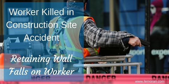 Worker Killed in Construction Site Accident | F.E. Moran