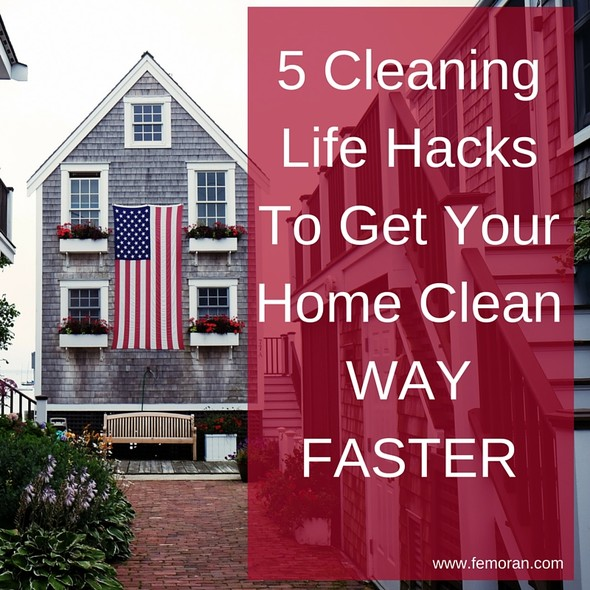 5 Cleaning Life Hacks | F.E. Moran Fire Protection