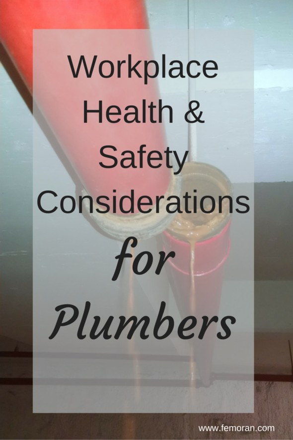 Workplace Health & Safety Considerations for Plumbers | F.E. Moran