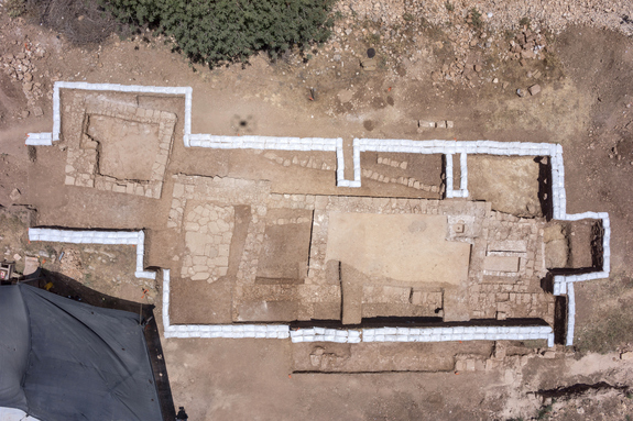 Ancient church discovered during road excavation