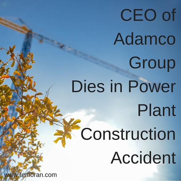 Construction Accident at Power Plant | F.E. Moran