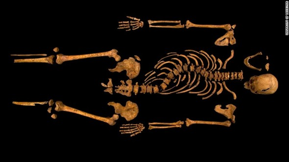 King Richard III remains found beneath parking garage