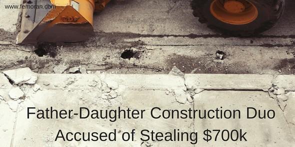 Father, Daughter Construction Duo | F.E. Moran